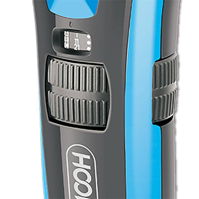 Hoomei férfi haj- és szakállnyíró gép / 3 méretpontos fejjel / kék színben