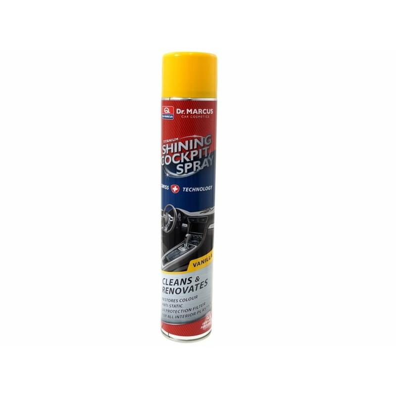 Műszerfal tisztító spray vanília illattal DM511