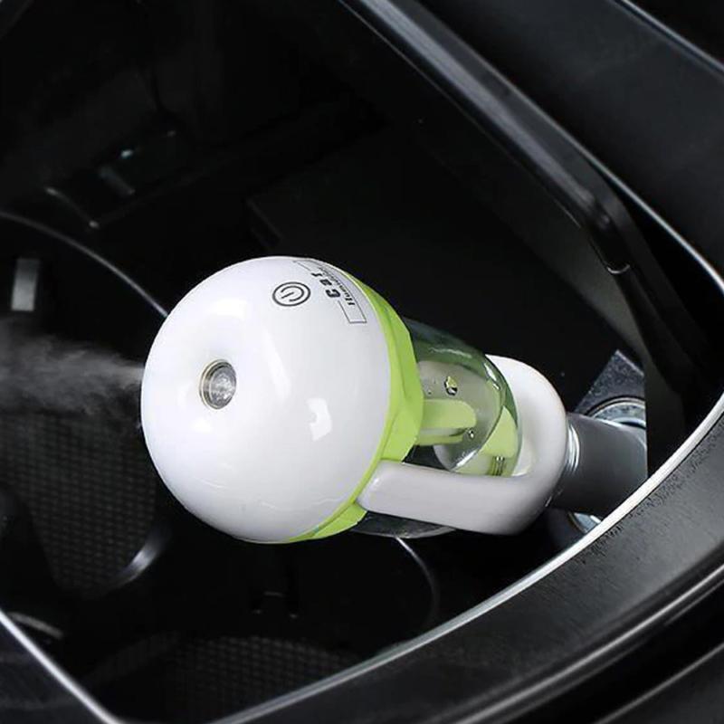 Párásító és illatosító, autóba – szivargyújtós csatlakozóval