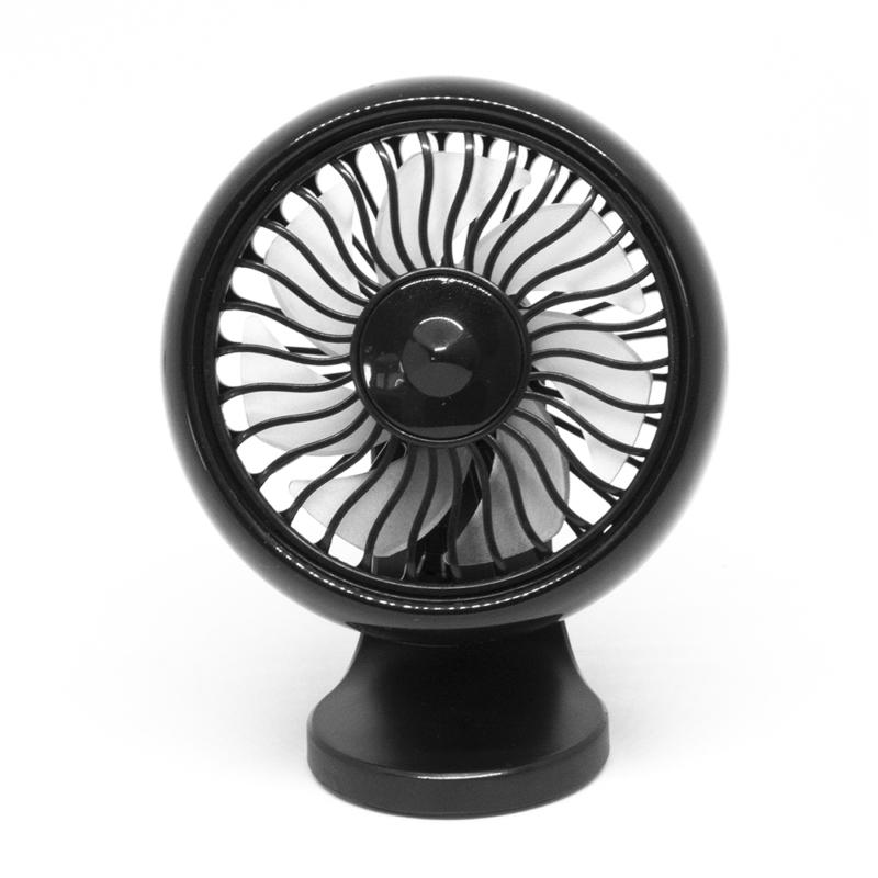 Kompakt autósventilátor / kétféle rögzítési móddal