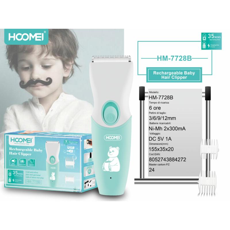 Hoomei gyermek hajnyírógép (HM-7728B)