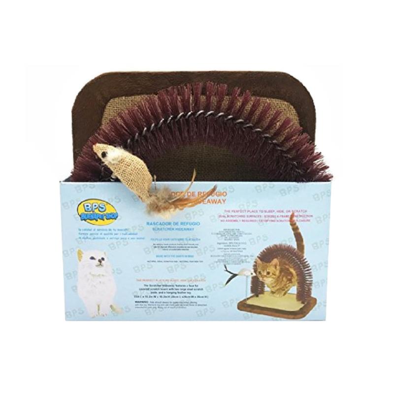 Halacskás macskajáték - átbújós, puha (BPS-3335)