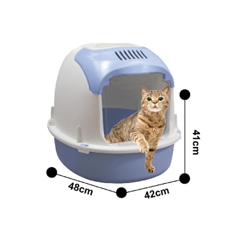 Nyitott macskatoalett / szagmentesítő szűrővel (BPS-5739)