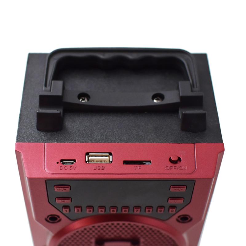 Hordozható Bluetooth hangfal / digitális kijelzővel (KTS-1036K)