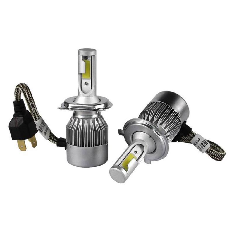 H4 C6 LED fényszóró szett / 1 pár, 36W, 3800LM