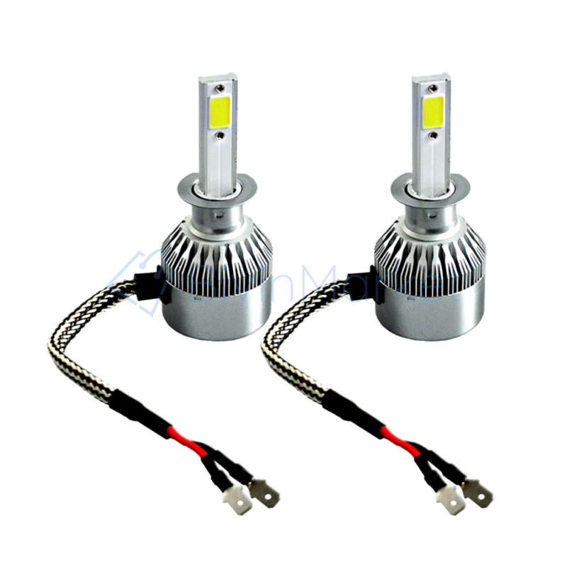 H1 C6 LED fényszóró szett / 1 pár, 36W, 3800LM