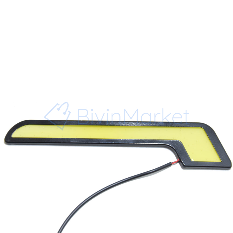 Autós nappali LED menetfény - 12V