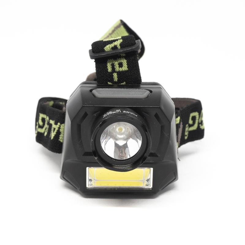 CREE+SMD LED-es fejlámpa / Nagy fényerő / Elemes (BL-927)