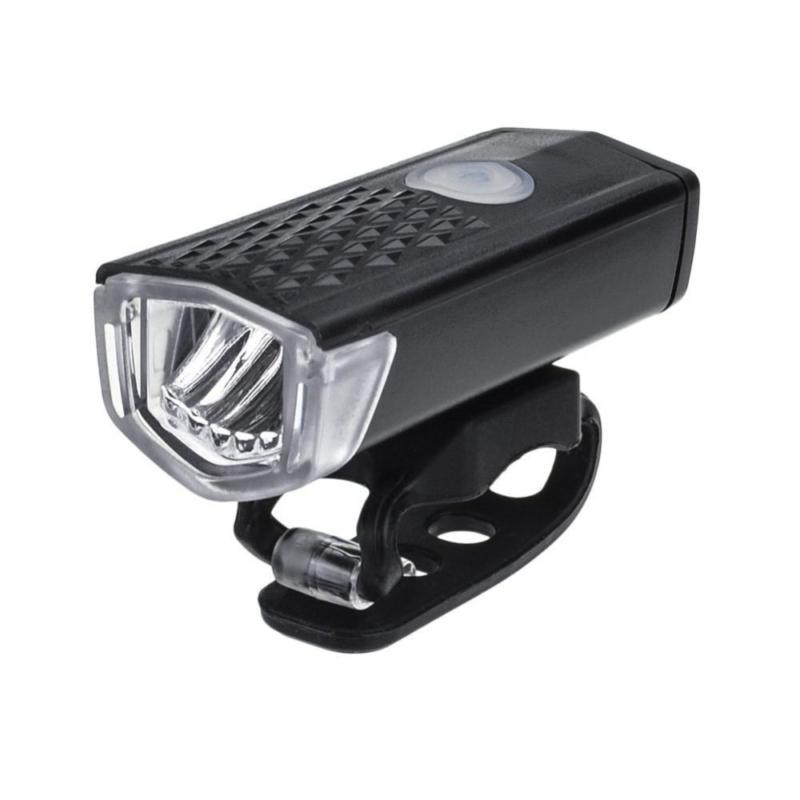 LED-es kerékpár lámpa / első / Tölthető akkumulátorral (16765)