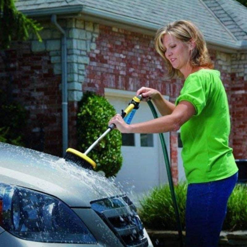 WaterZoom magasnyomású tisztító szett / kefével és mosószertartállyal
