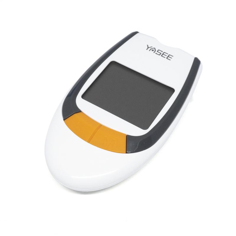 Digitális vércukorszintmérő / Hordozótasakban / 50 db tesztcsíkkal