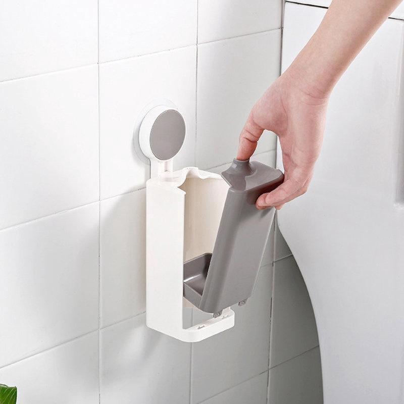 Öntapadós, fali WC-kefe tartóval (185018)