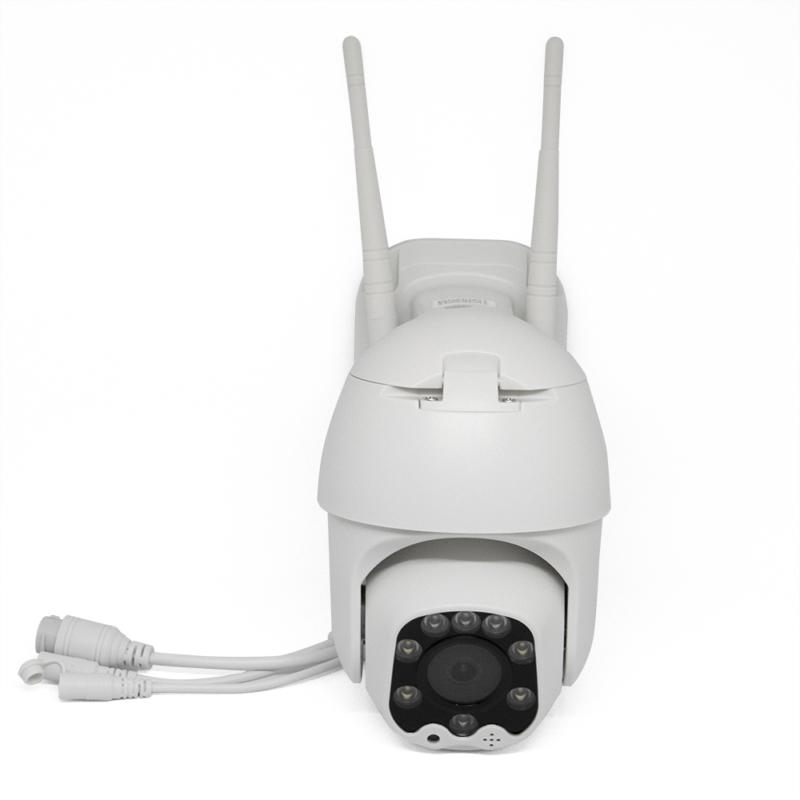 Kültéri vízálló panorámakamera / Telefonról vezérelhető okoskamera