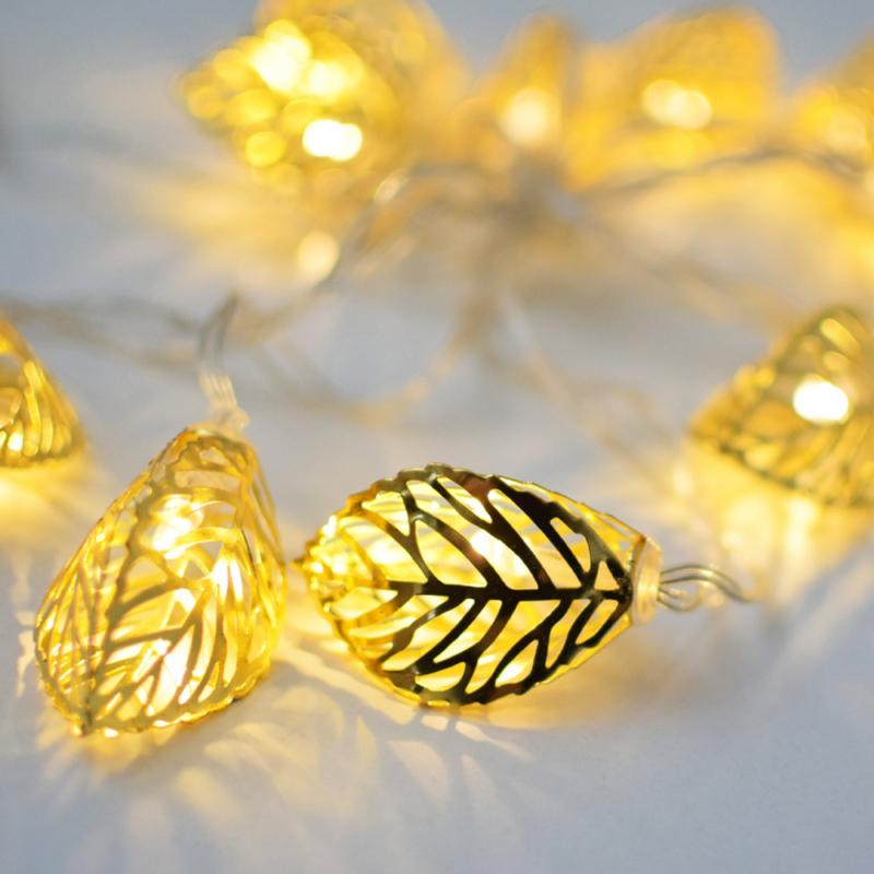 Prémium karácsonyi LED-füzér / 10 db LED, leveles (1101658)