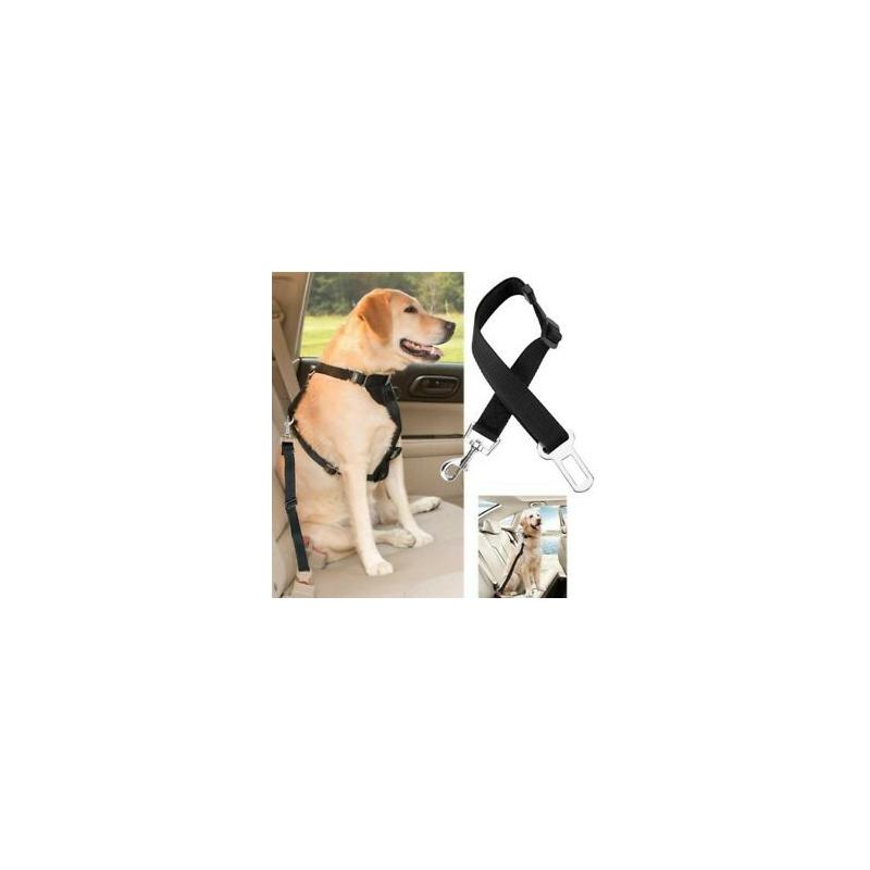 Biztonsági Öv csatlakozású rövidpóráz állatoknak LA-394