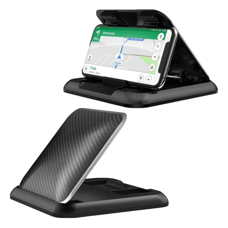 Műszerfali telefontartó autóba tapadókoronggal / stabil, csúszásmentes