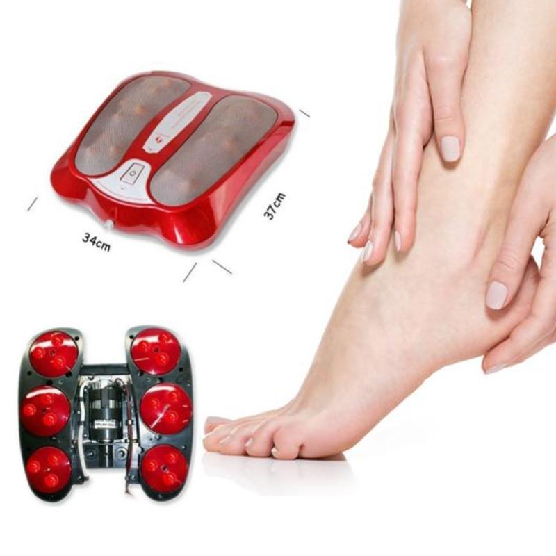 Shiatsu infravörös lábmasszírozó – talpmasszírozó 18 masszírozófejjel / lábmelegítő és vérkeringést serkentő funkcióval