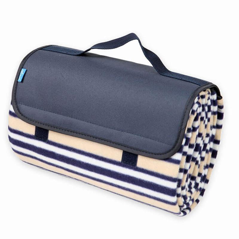 Kétoldalas piknik pléd / vízálló strand takaró - 150x130 cm