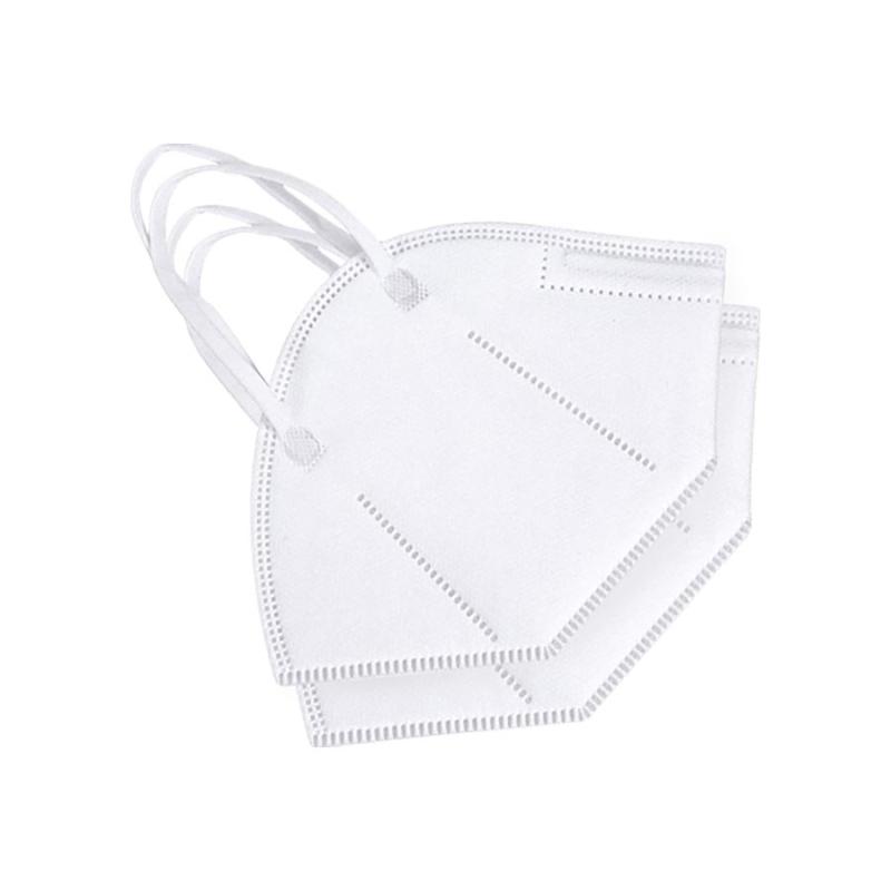100 darab KN95 légzésvédő egészségügyi arcmaszk / szájmaszk (FFP2)