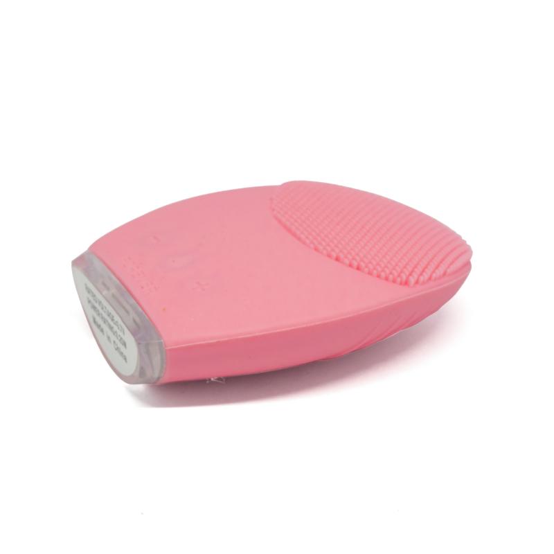 Pulzáló szilikon arctisztító – rózsaszín