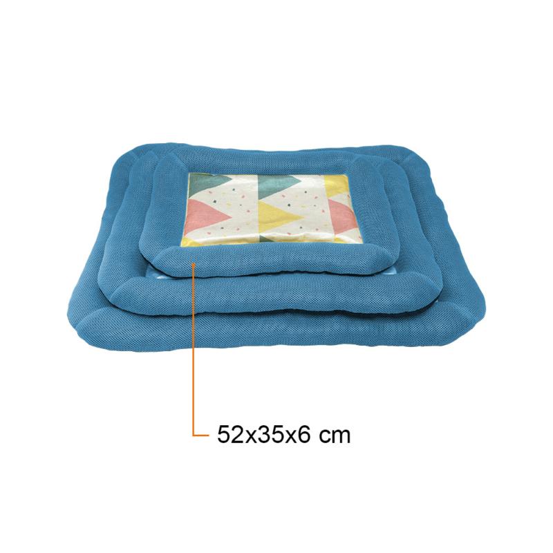 Kényelmes fekhely – kutyapárna / kék 52x35x6 cm