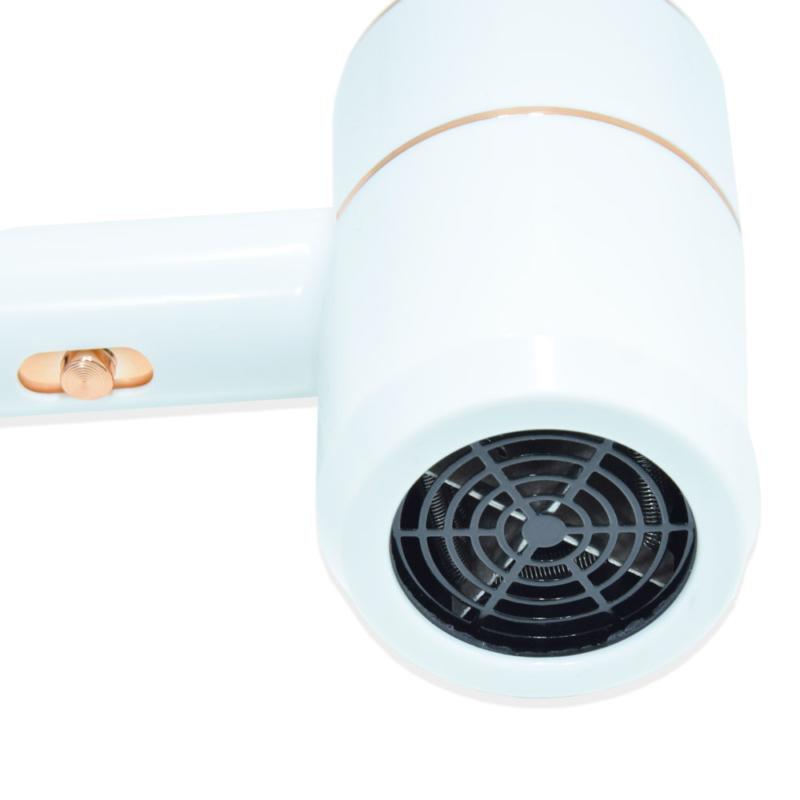Hajkímélő ionos hajszárító – 220 V / fehér