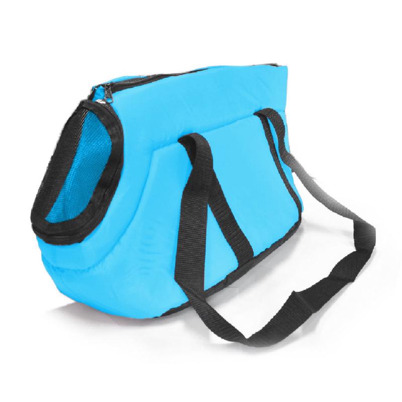 Kutya hordozó táska – 40x24x23 cm / kék (BPS-1556)