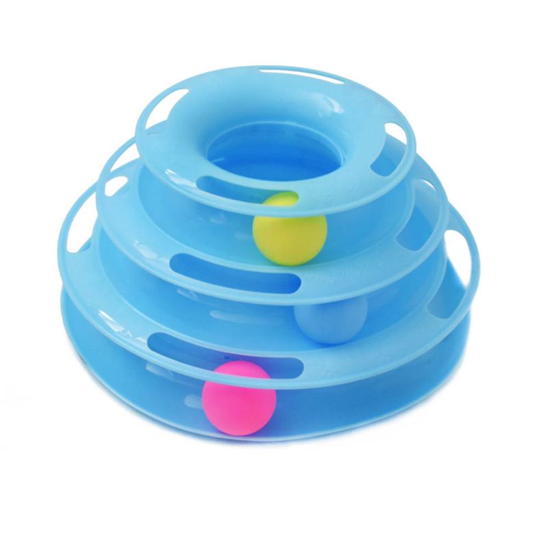 Interaktív labdajáték macskáknak (BPS-7039)