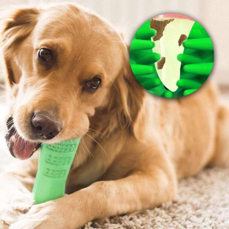 Szilikon fogtisztító játék kutyáknak – jutalom falat tartóval (BPS-7462)