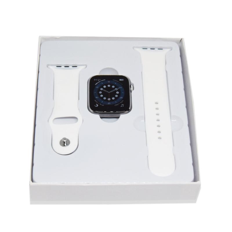 T500 SmartWatch – Bluetooth okosóra / fehér szíjjal