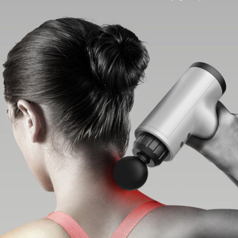 Kézi masszázspisztoly, a hordozható személyi masszőr / masszírozó gép cserélhető fejekkel