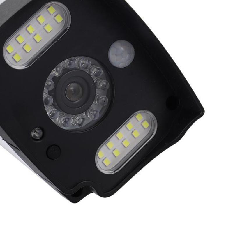 Napelemes, mozgásérzékelős álkamera / LED-reflektor