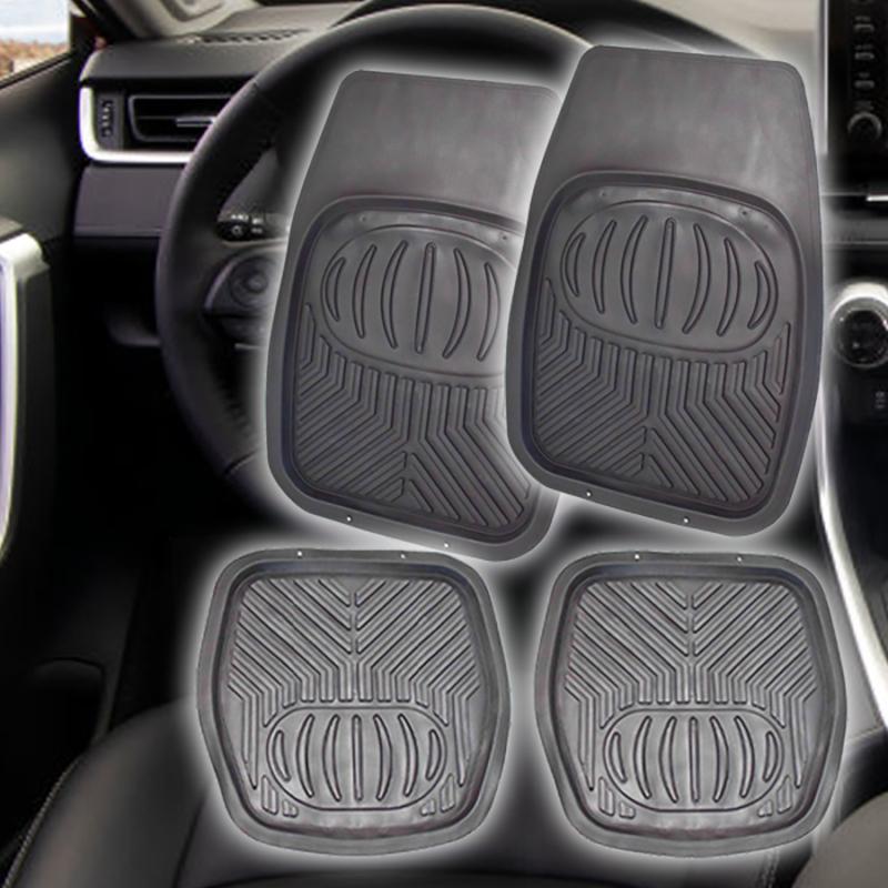 Univerzális autós gumiszőnyeg / magasperemű hótálca, 4 részes