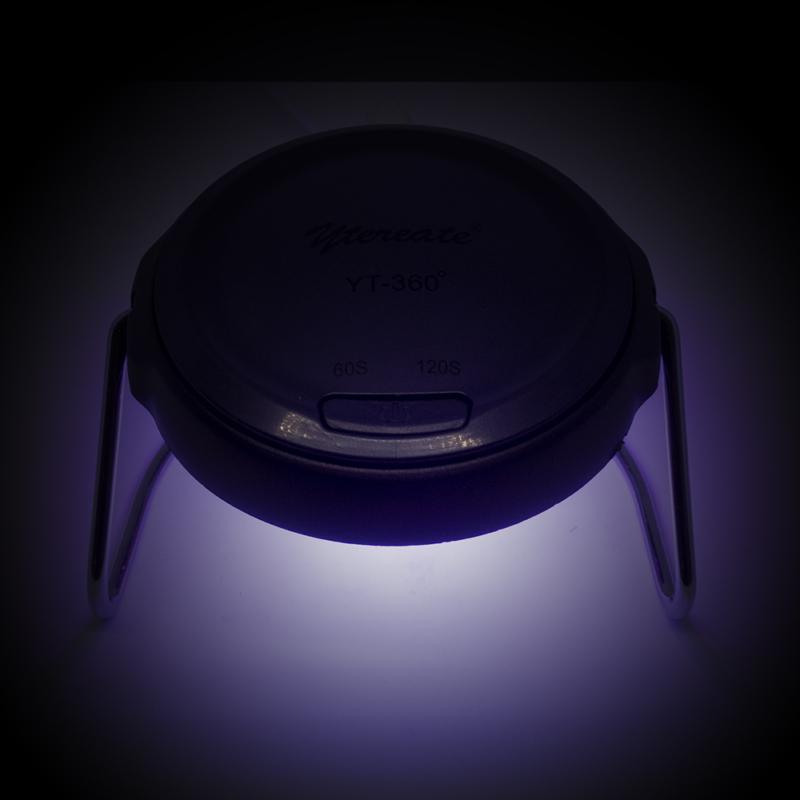 UV körömlámpa, 18 W - hordozható