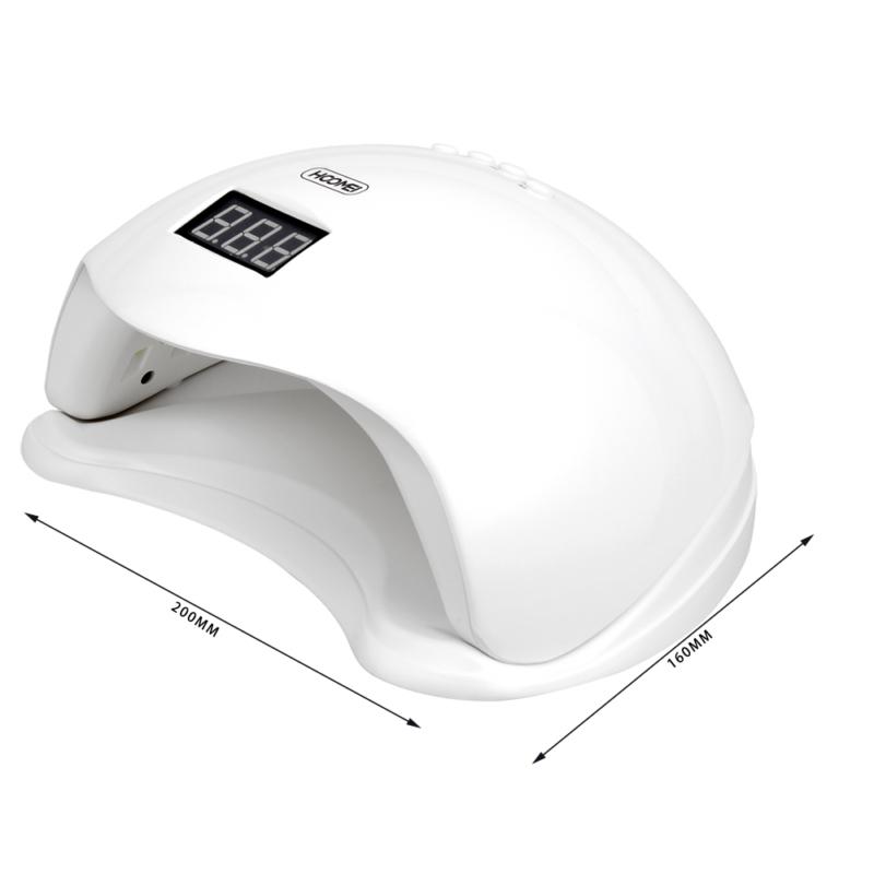 Hoomei professzionális UV/LED lámpa műkörmözéshez – 48 W