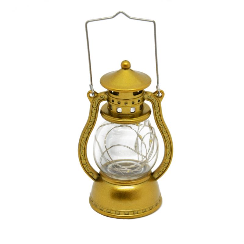 LED lámpás, gyertyatartós ledfüzérrel