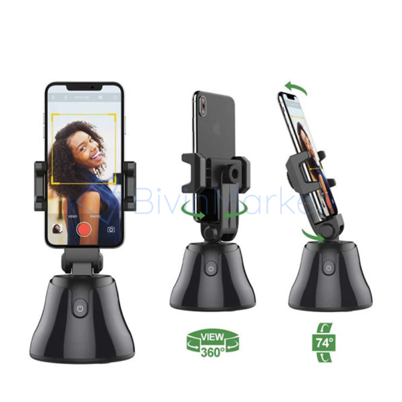 Intelligens robot kameraman, 360°-os mozgáskövető telefontartó