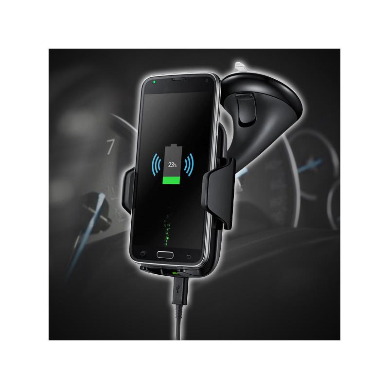 Autós telefontartó – vezeték nélküli gyorstöltő