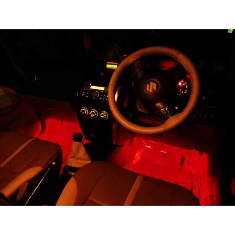 DECO lámpa SCS-DX035R Piros