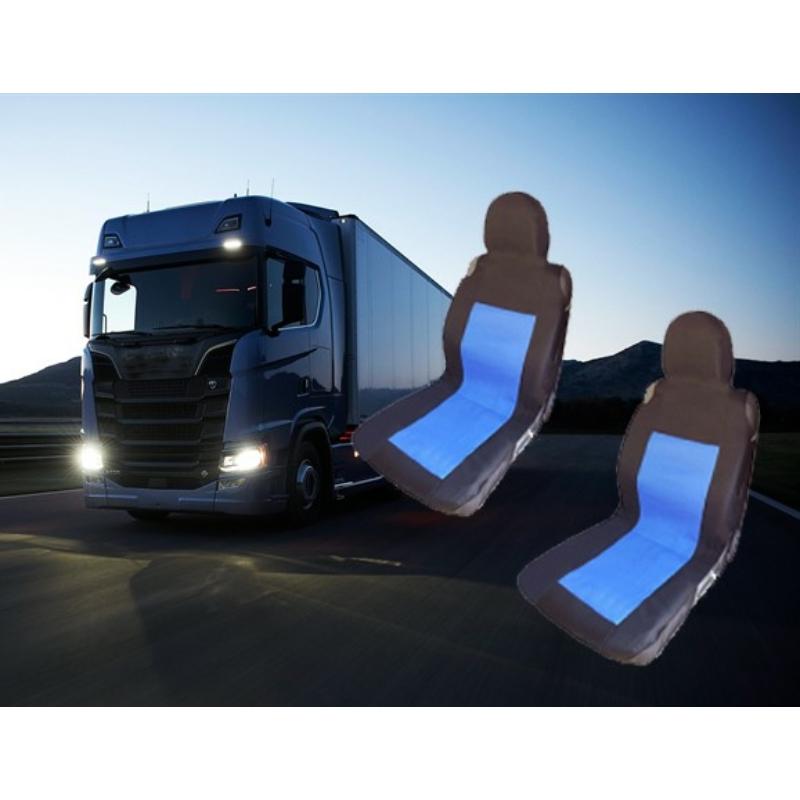 Kamion üléshuzat 2db- Kék/Fekete