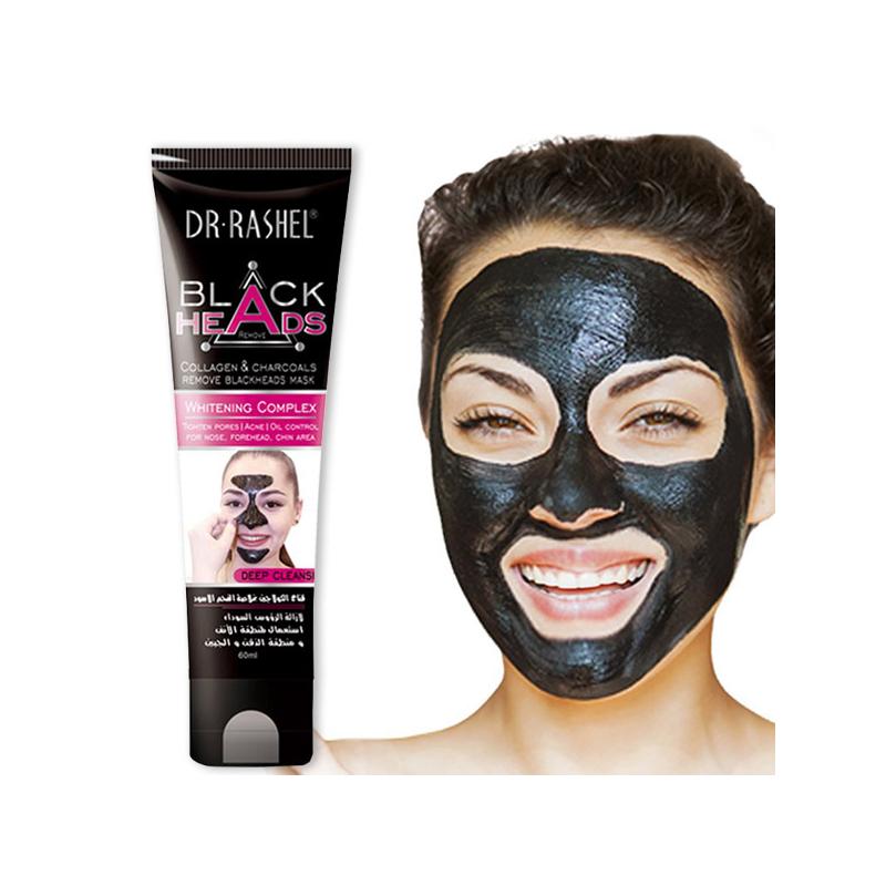 Fekete arcmaszk a mitesszerek ellen