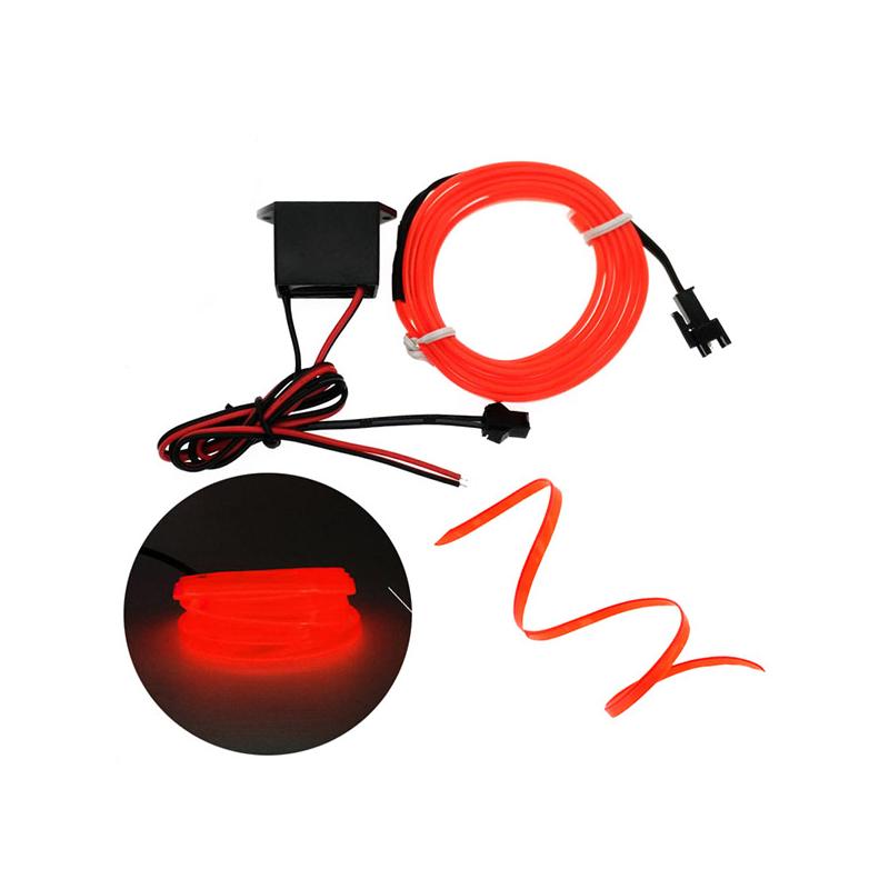 Autós LED fényszalag / vágható világítás, 3 méter
