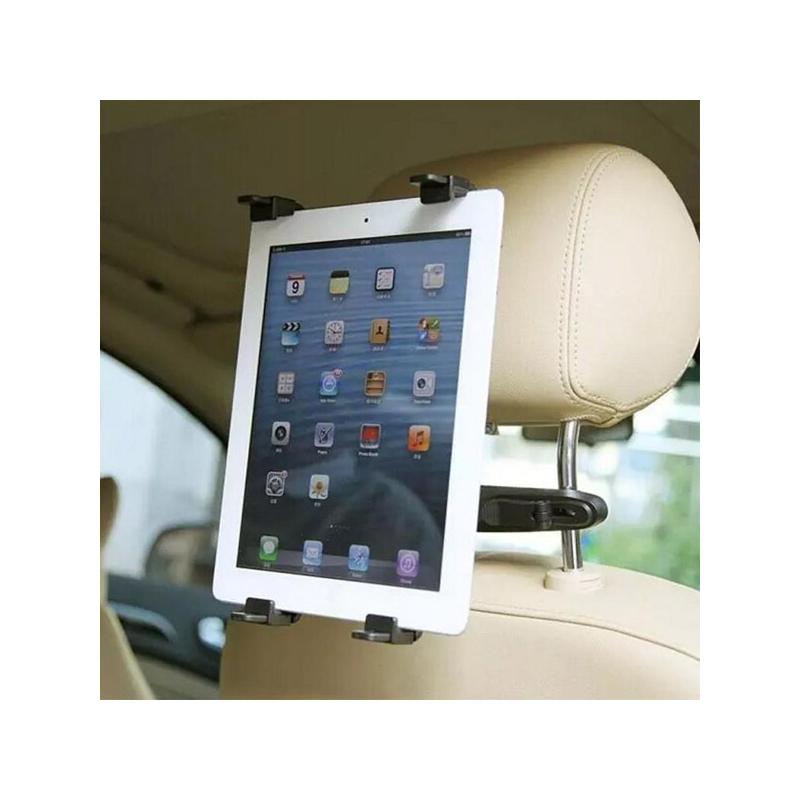 Autó fejtámlájára rögzíthető univerzális tablet tartó