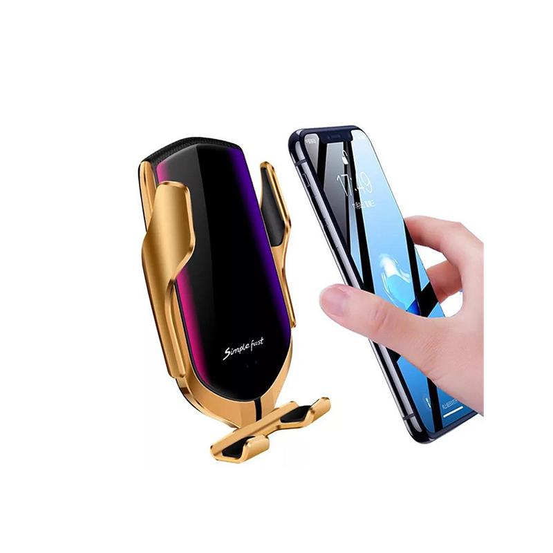 R1 Smart Sensor telefontartó és vezeték nélküli töltő - autókba