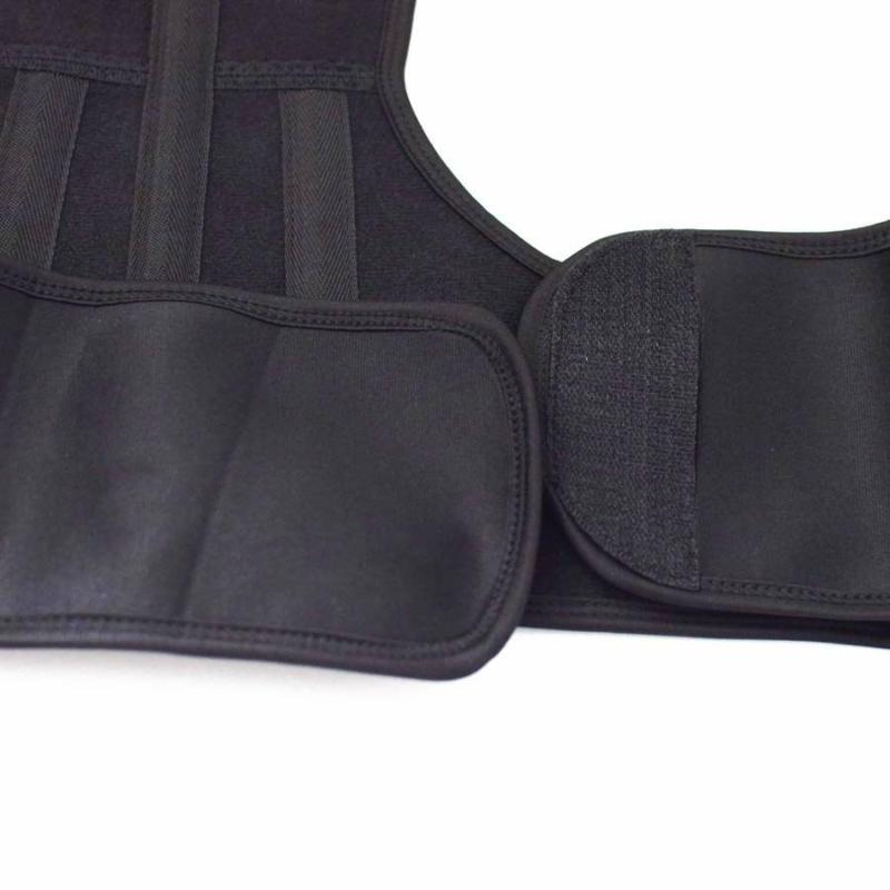 Mágnesterápiás hátpánt / testtartást javító háttámasz