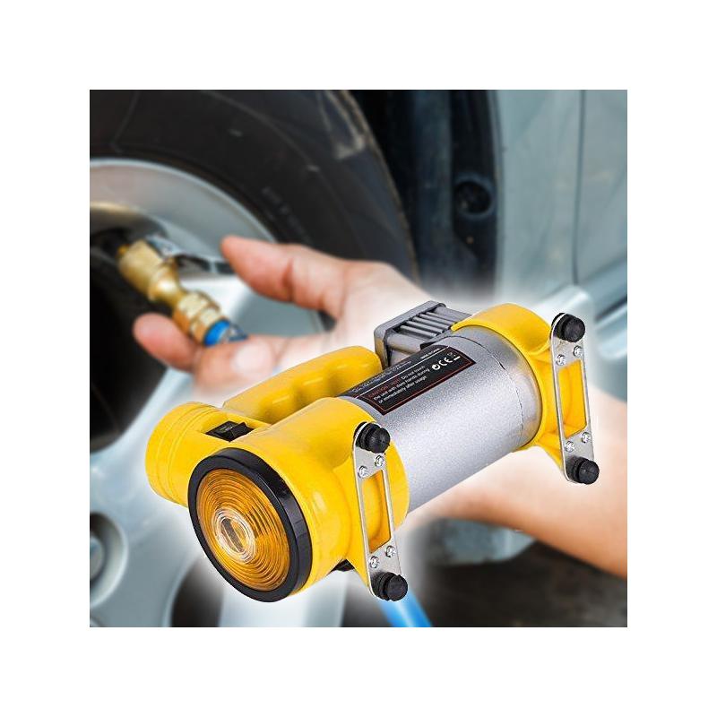 Ciklon autós légkompresszor szivargyújtós csatlakozóval / 150PSI