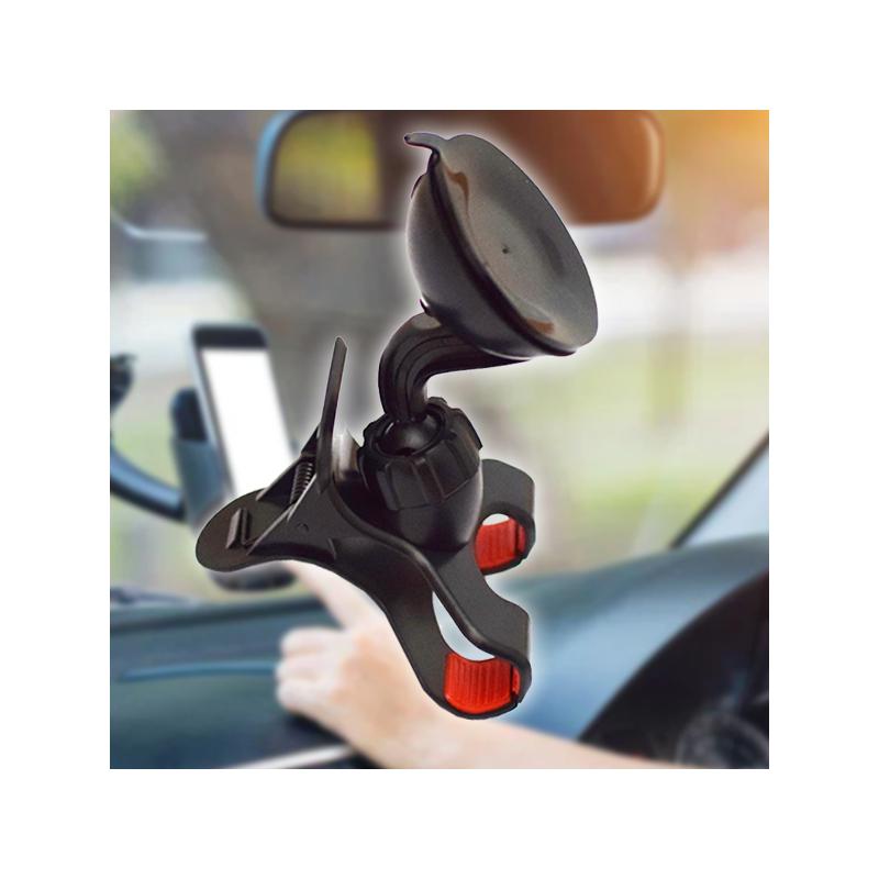 Csíptetős telefontartó autóba