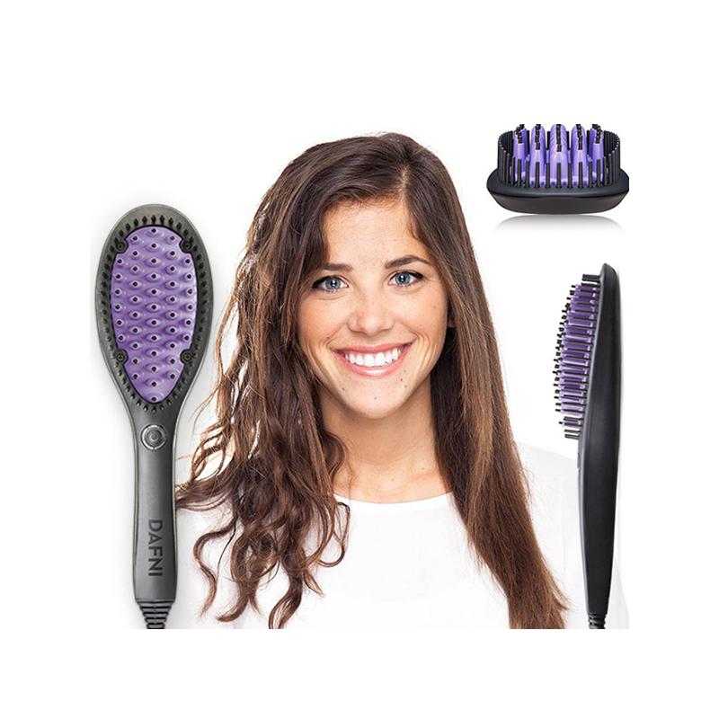 Dafni elektromos hajegyenesítő és hajformázó hajkefe