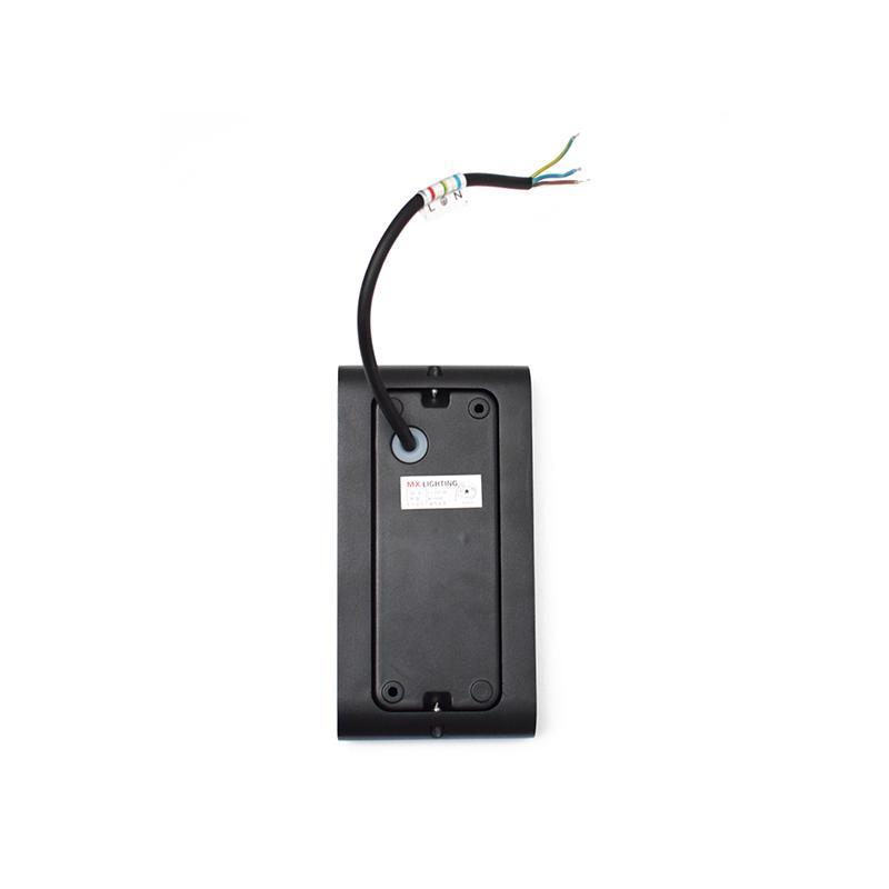 Dupla LED falilámpa / kültéri - fekete