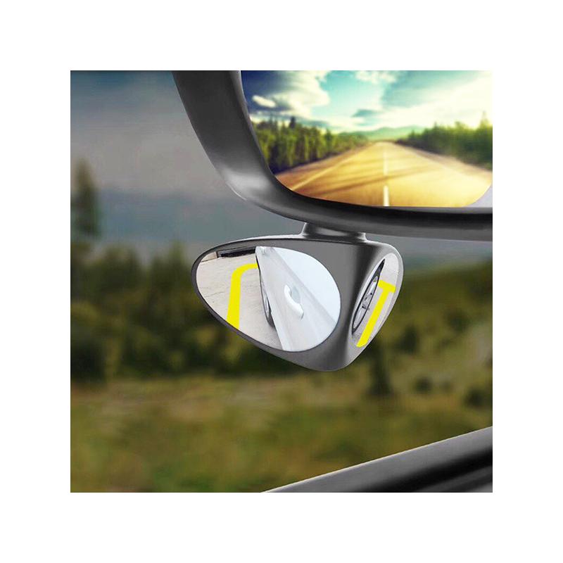 Dupla holttér tükör autóba / parkolást segítő kiegészítő tükör